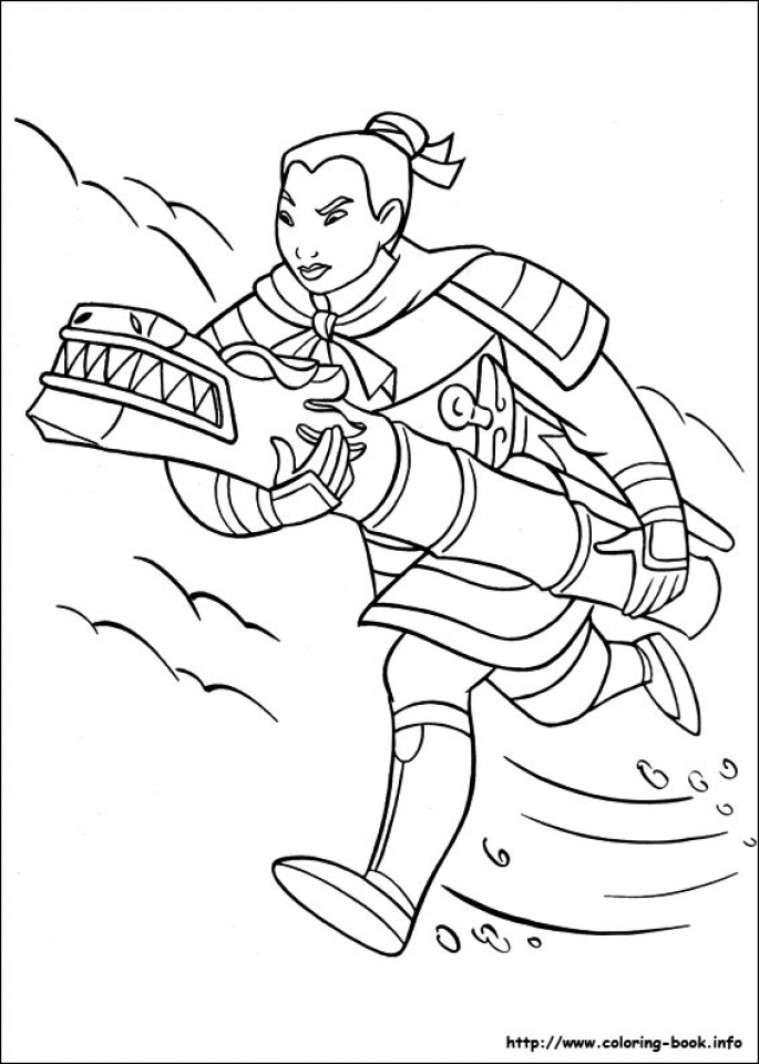mulan 2 coloring pages - get this free mulan coloring pages to print 590f10