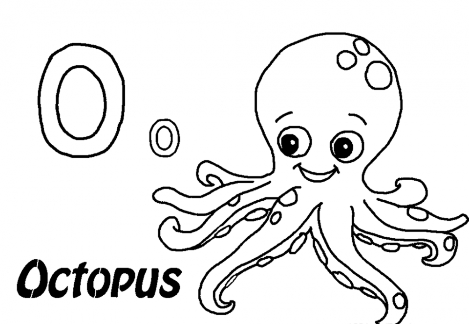 20+ Free Printable Octopus Coloring Pages ...