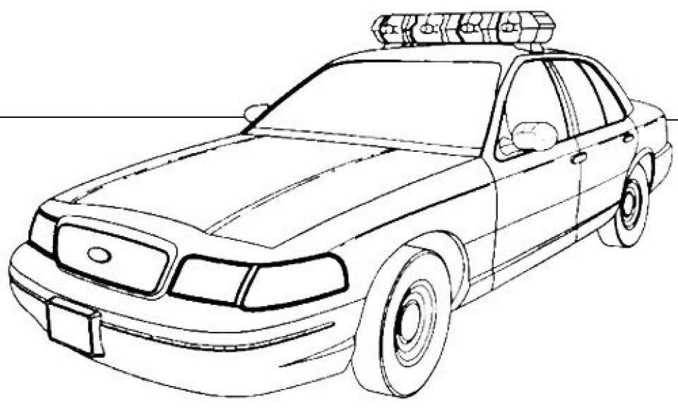police car coloring pages to print police truck free coloring pages