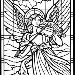free printable angel coloring pages for adults 39hby