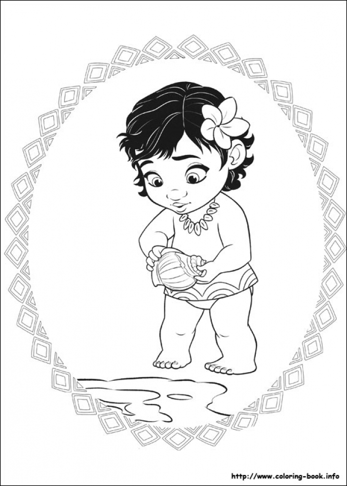 free printable disney moana coloring pages kl34s
