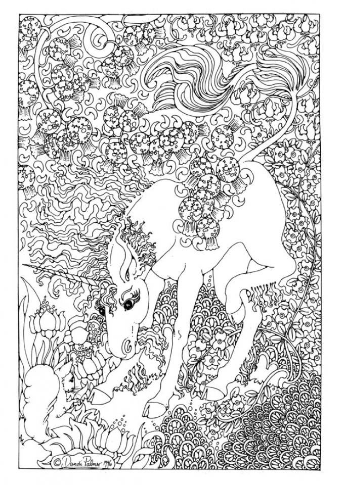 Get This Free Printable Unicorn
