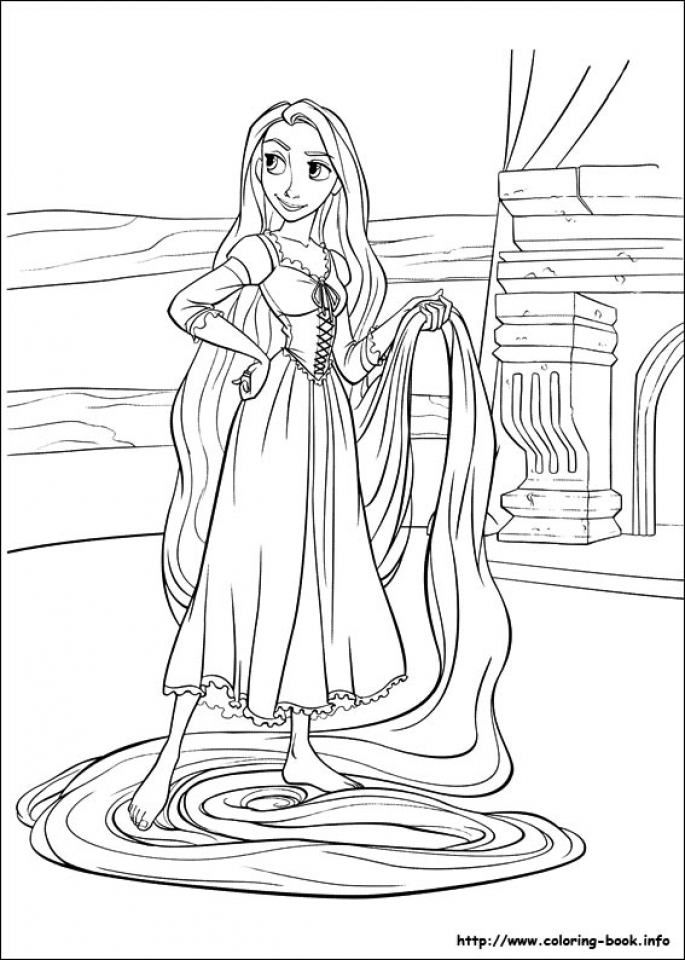 Get This Free Rapunzel Coloring Pages To Print 9uwmi Rapunzel Coloring Page