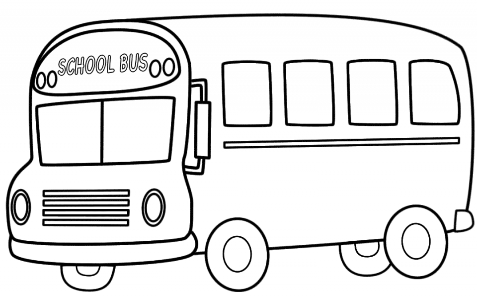 Get This Free School Bus Coloring Pages 18fg13