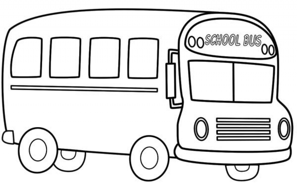 Get This Free School Bus Coloring Pages to Print t29m11