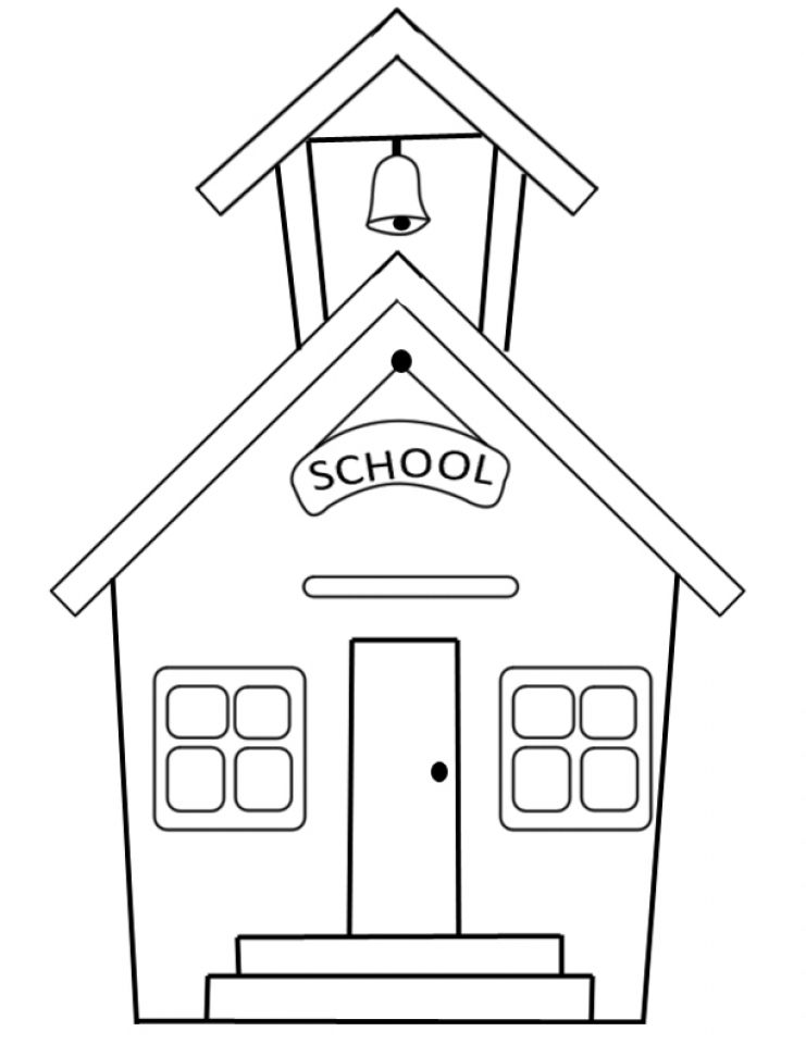 Get This Free School Coloring Pages T29m18