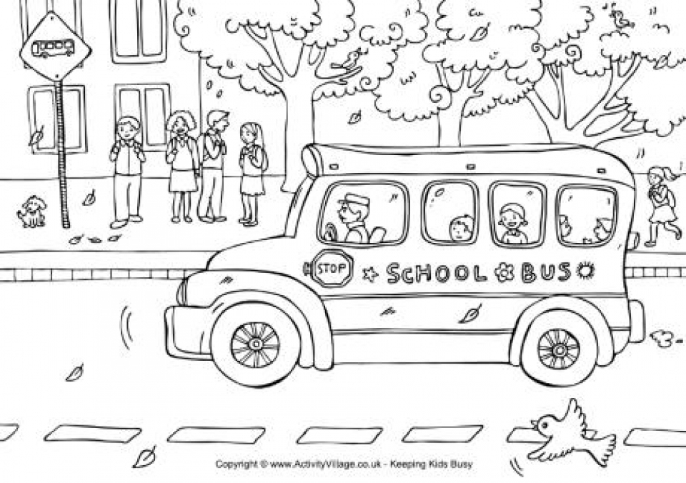 Get This Free School Coloring Pages to Print t29m18 !