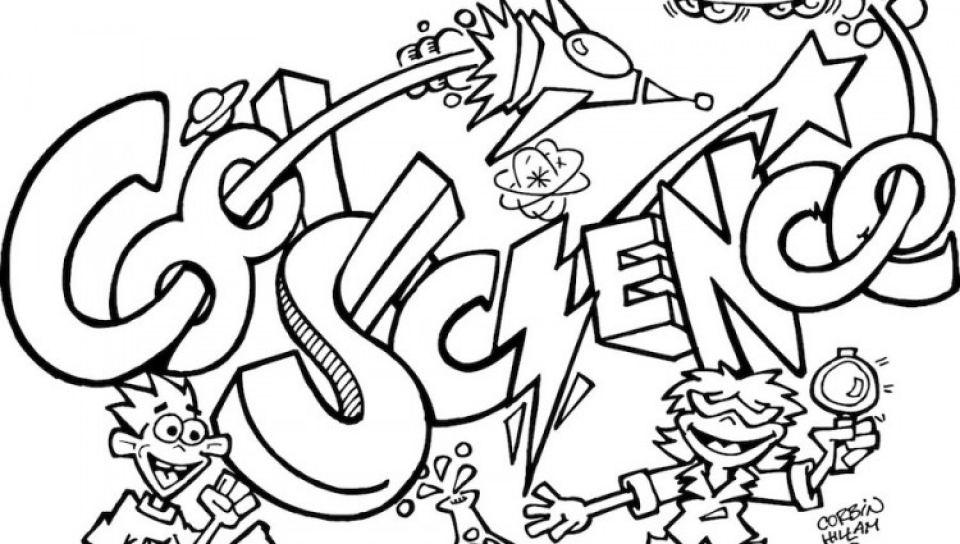 Get This Free Science Coloring Pages 2srxq