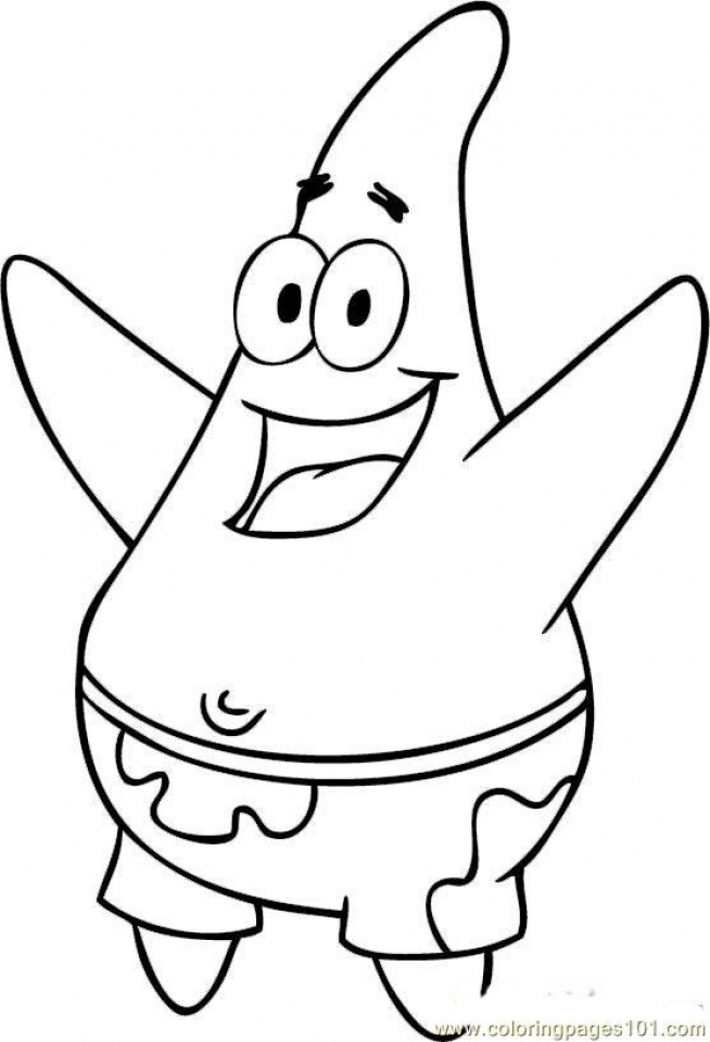 Get This Free Spongebob Squarepants Coloring Pages to Print 6pyax
