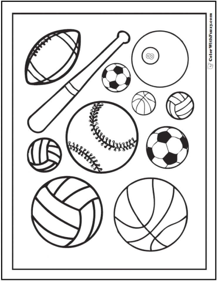 valentine sports coloring pages - photo#27