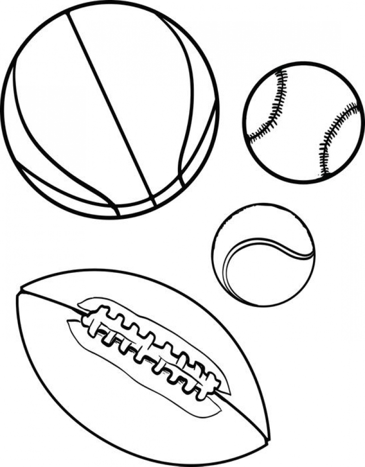 online coloring pages sports - photo#27