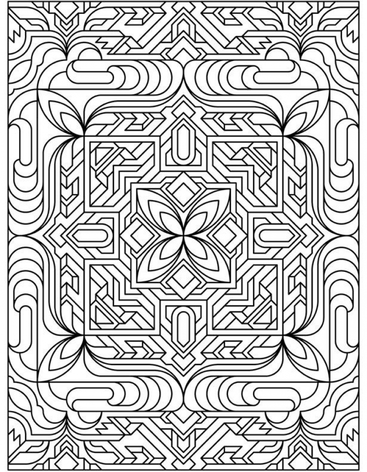 free tessellation coloring pages | Get This Free Tessellation Coloring Pages Adult Printable ...