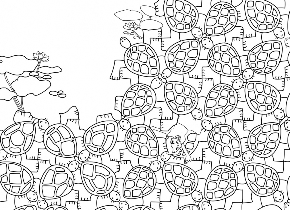 Get This Space Coloring Pages Adults Printable PDW44 !