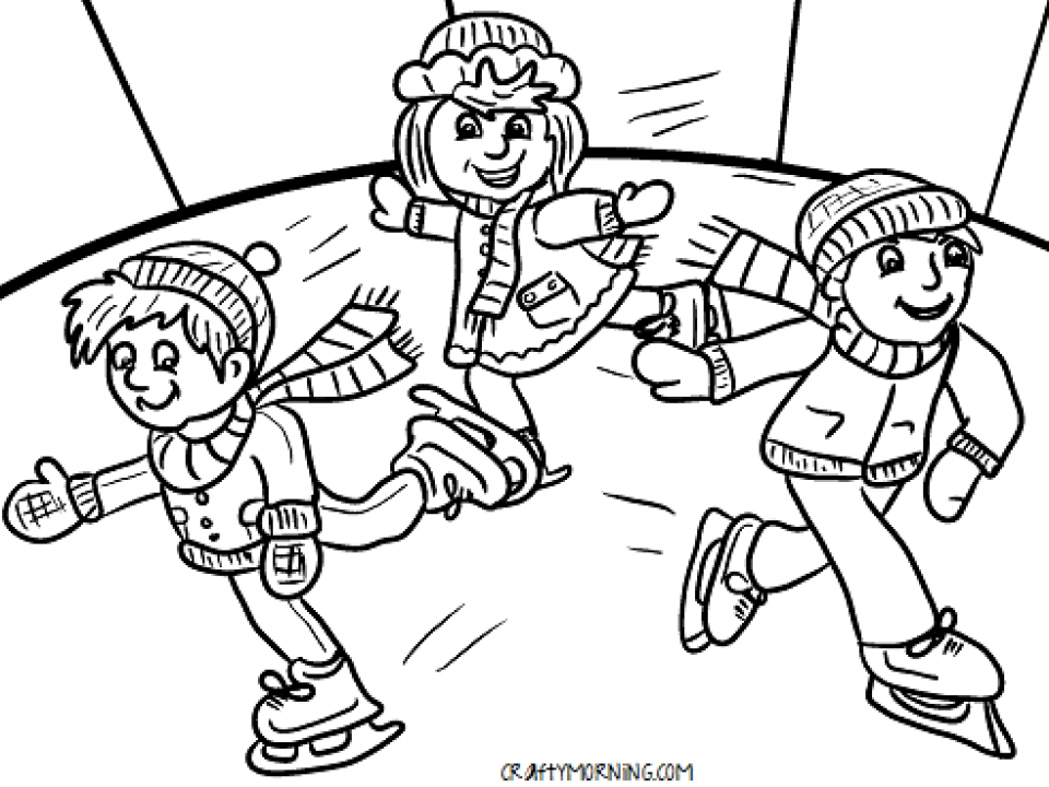 Get this free winter coloring pages to print 993963 for Snow coloring pages free