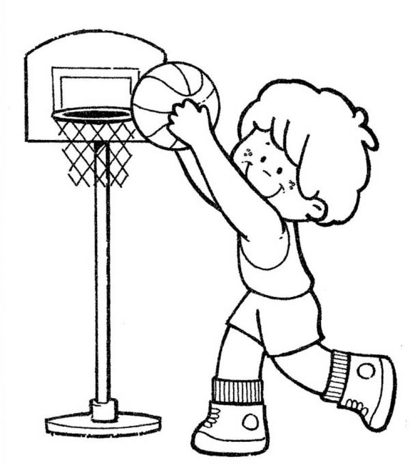 Lonely Boy Cartoon Clipartsco Sketch Coloring Page