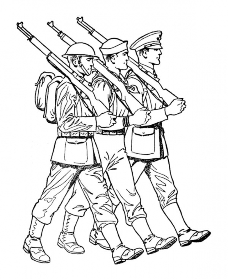 Get This Kids Printable Army Coloring Pages 24chb67