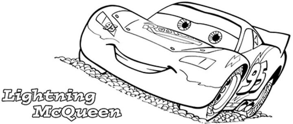 lightning mcqueen coloring pages free printable 107438 - Lightning Mcqueen Coloring Pages