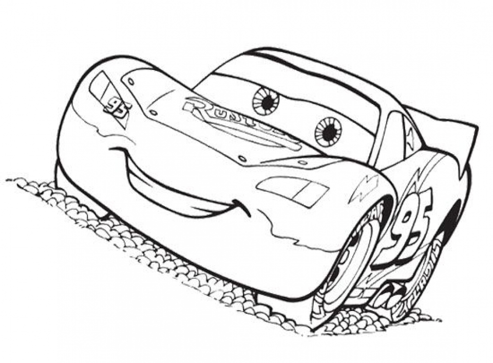 Get this lightning mcqueen coloring pages free printable for Lightning mcqueen color pages