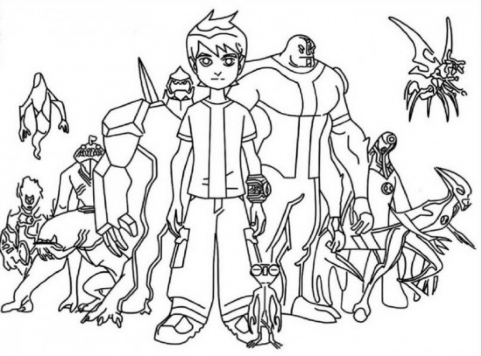 ben 1000 coloring pages - photo#17