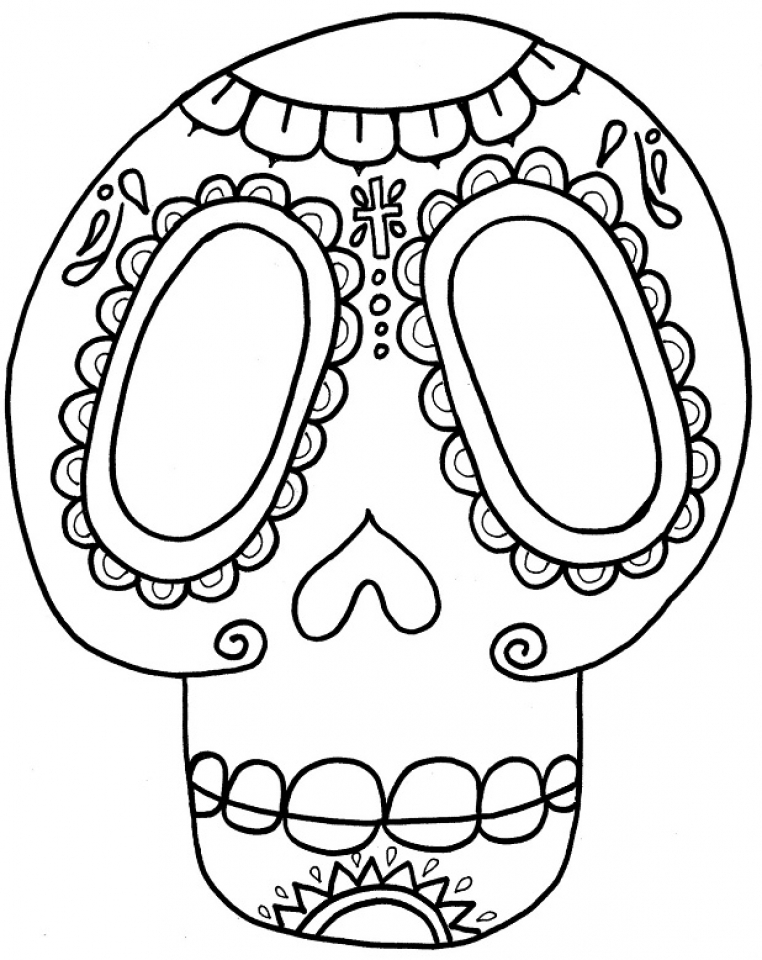 online dia de los muertos coloring pages jzj9z - Dia De Los Muertos Coloring Book