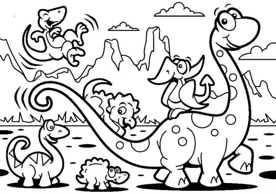 dinasour coloring pages free online - photo#49