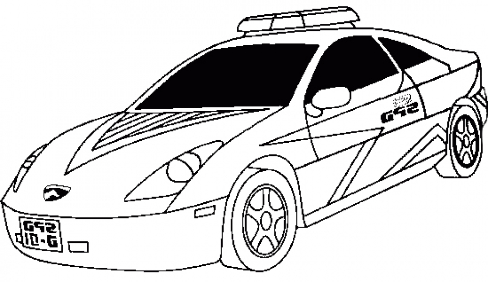 Get This Online Police Car Coloring Pages 38730