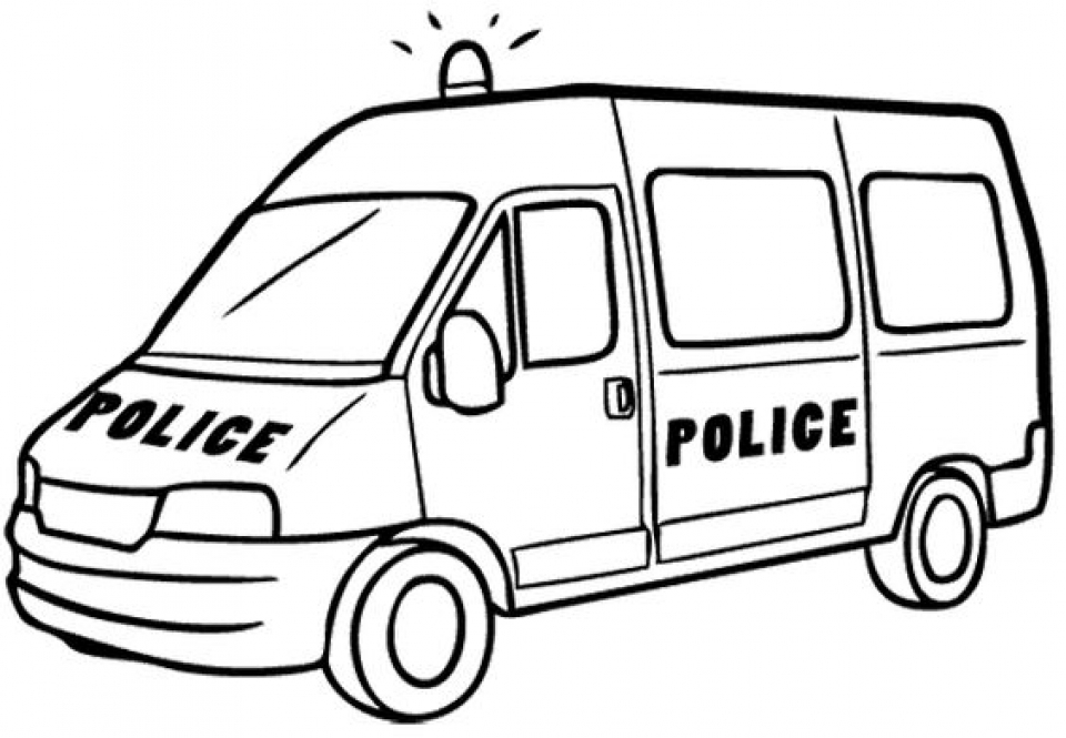 get this online police car coloring pages 43569