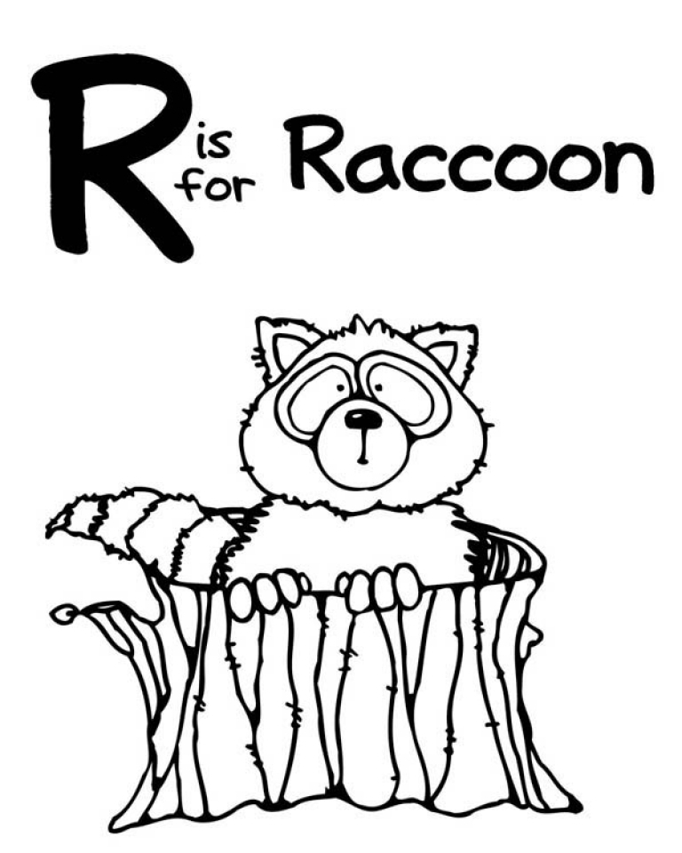 20 Free Printable Raccoon Coloring Pages EverFreeColoringcom