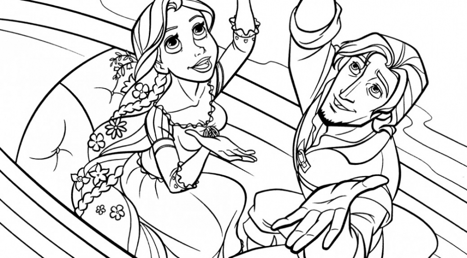 tangled coloring book pages - get this online rapunzel coloring pages as1yc