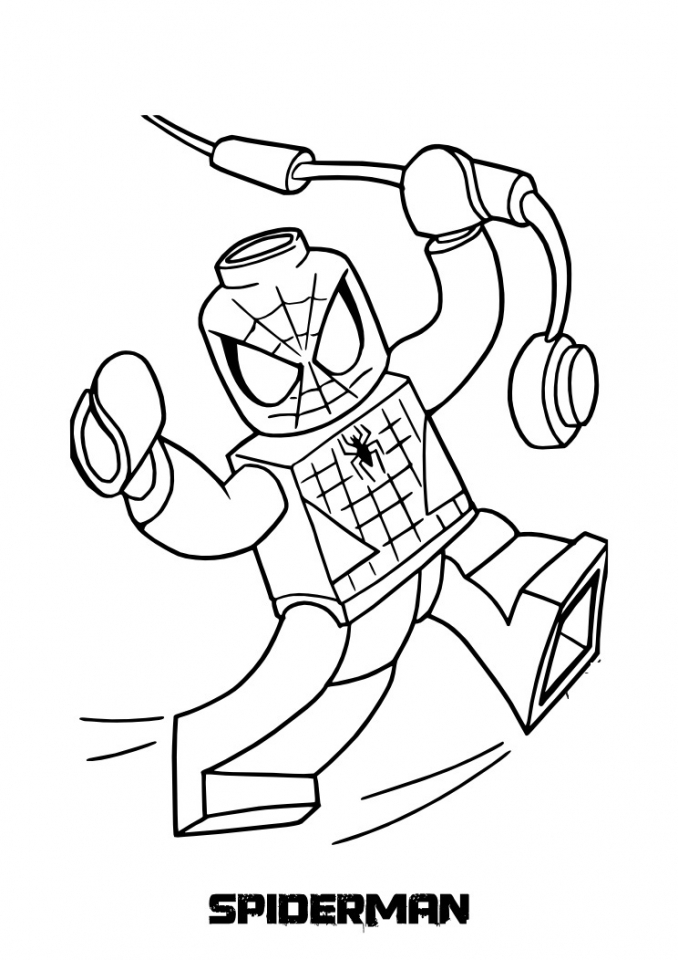 Get This Online Spiderman Coloring Pages 746206 !