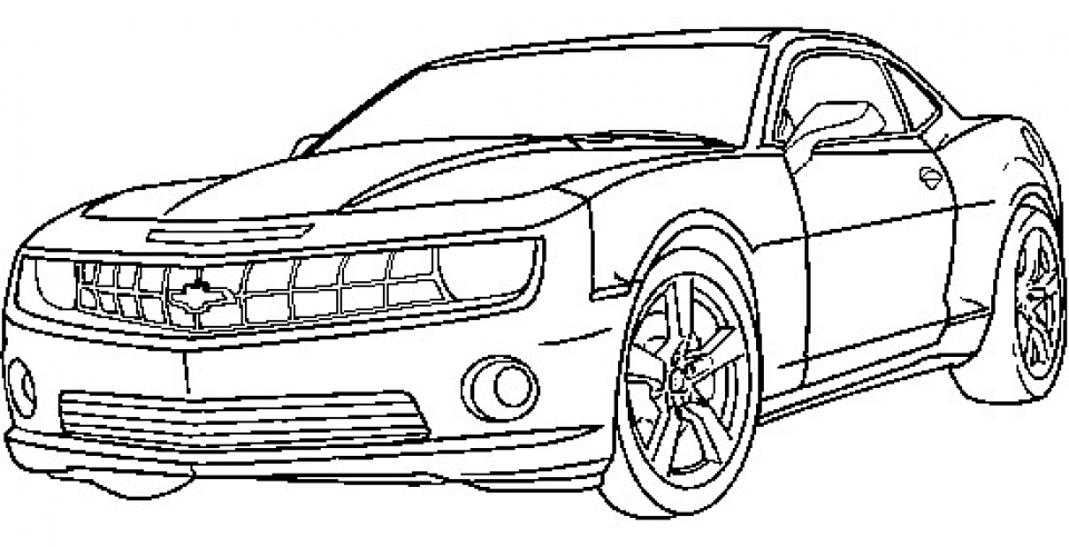Online Sports Coloring Pages S3yzy on 2017 Dodge Challenger