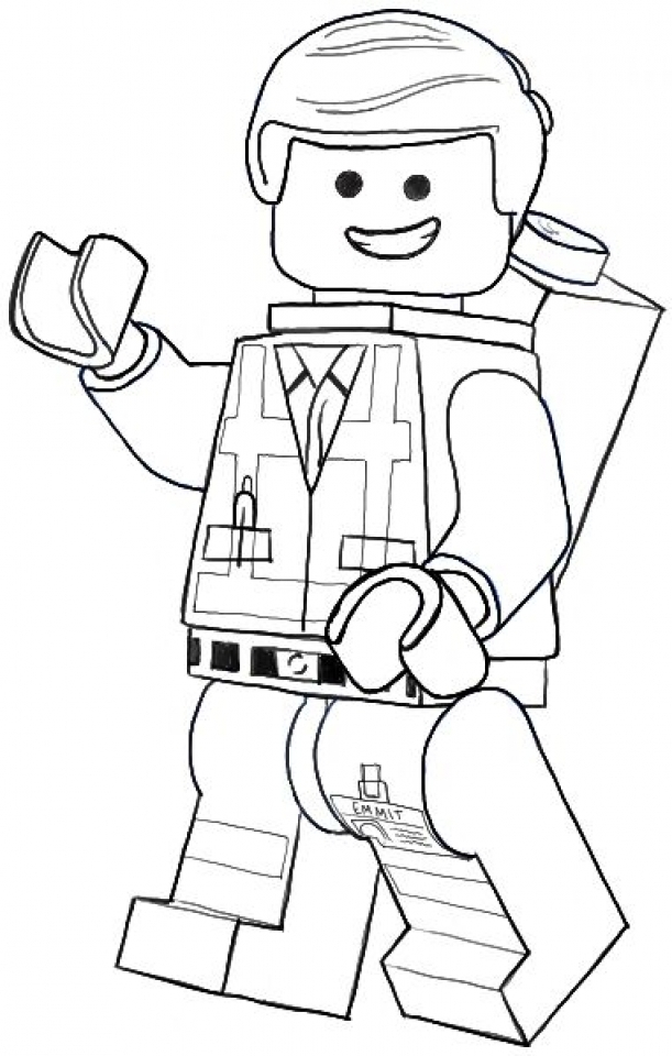 Get this online the lego movie coloring pages 357857 for Lego movie coloring pages
