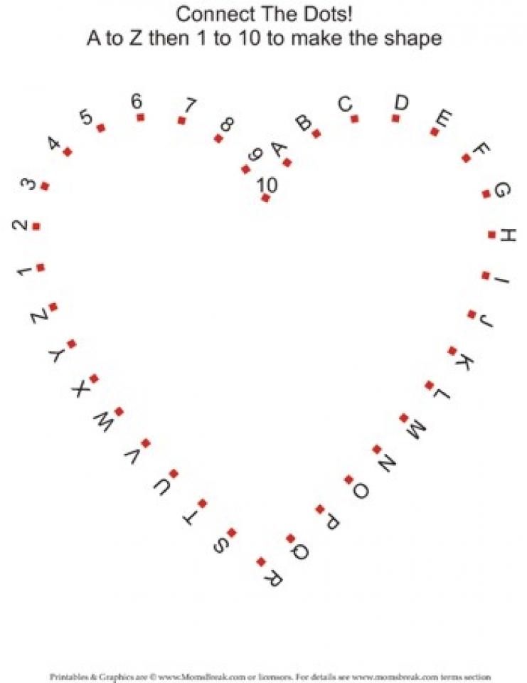 Skidamarink Worksheet - Connect The Dots - Super Simple | 960x741