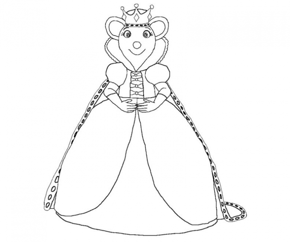 Get This Printable Angelina Ballerina Coloring Pages 662628