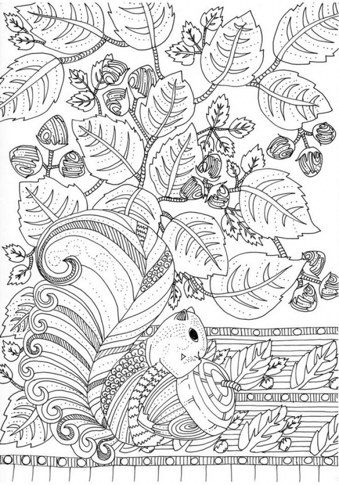 get this printable autumn coloring pages for adults xc45pl