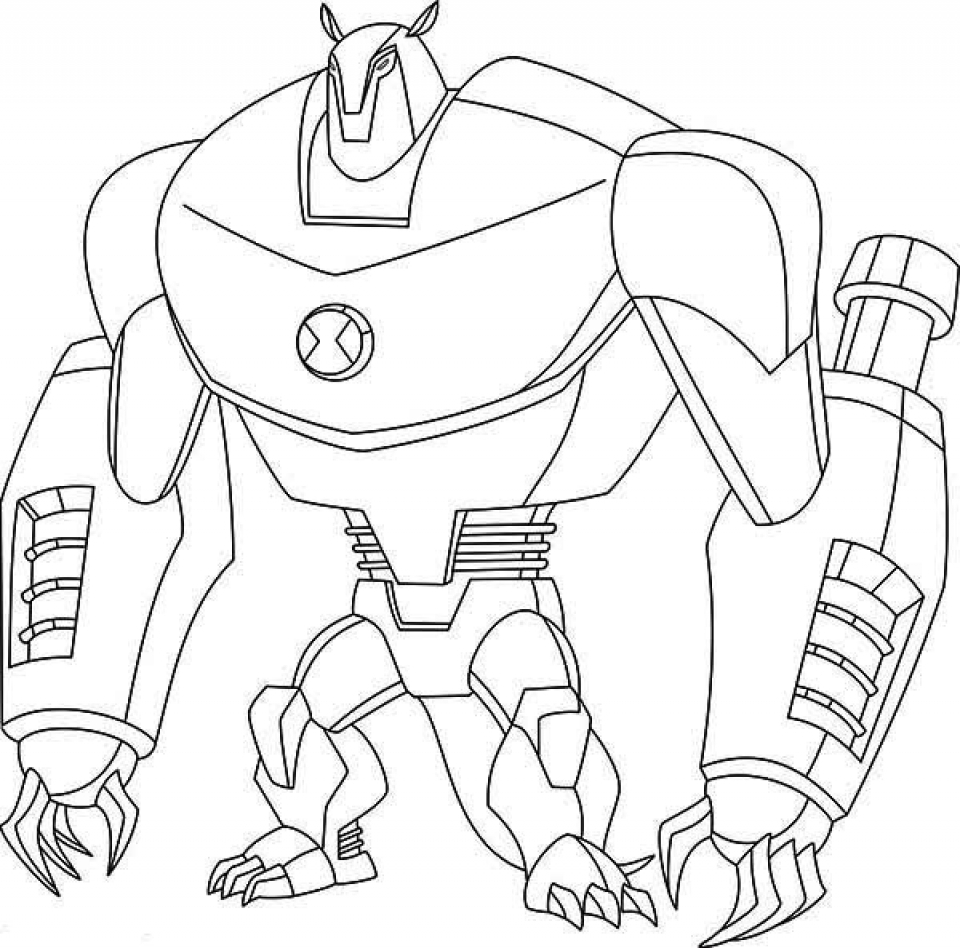 Get This Printable Ben 10 Coloring Pages 9wchd