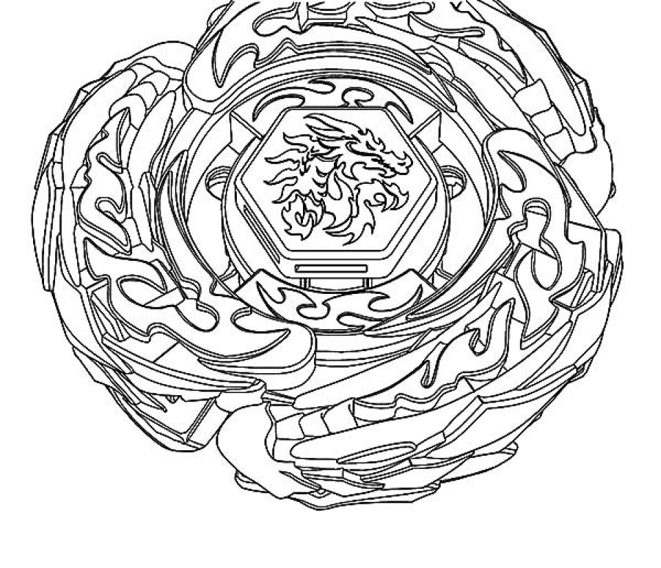 printable beyblade coloring pages online 59808 - Beyblade Coloring Pages