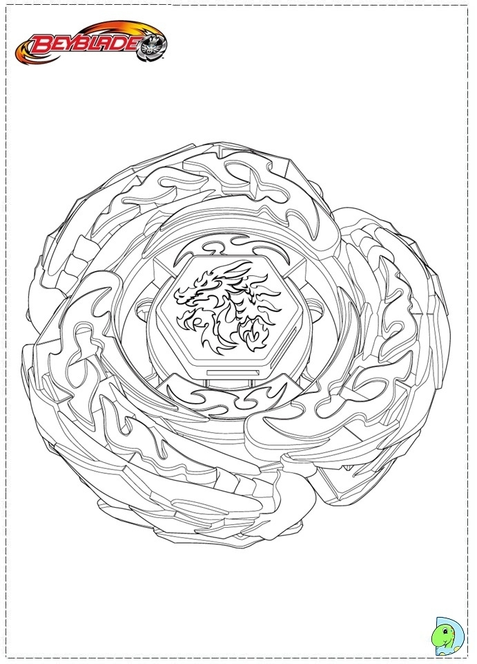 printable beyblade coloring pages online 90455 - Beyblade Coloring Pages