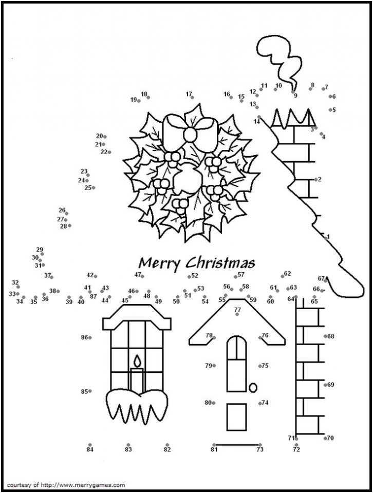 Get This Printable Christmas Dot