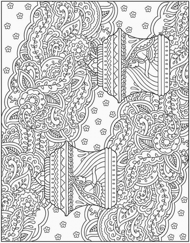 Get This Printable Complex Coloring