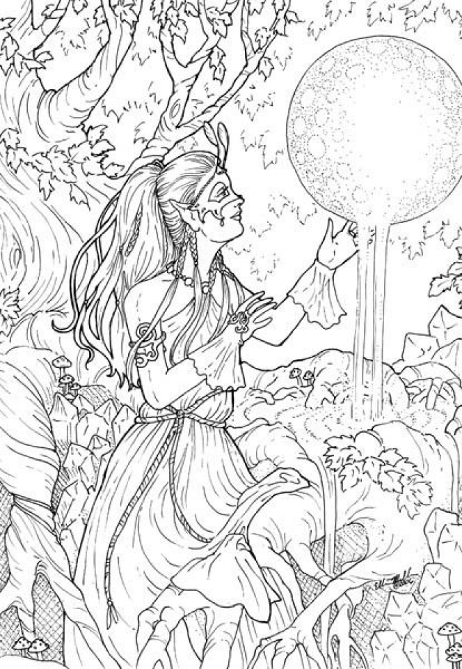 Printable Complex Coloring Pages for Grown Ups Free   21NC7