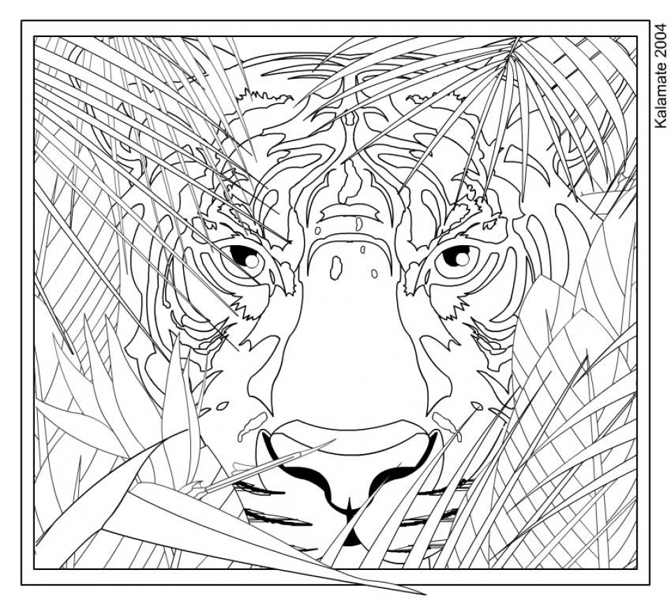 complex coloring pages online - photo#20