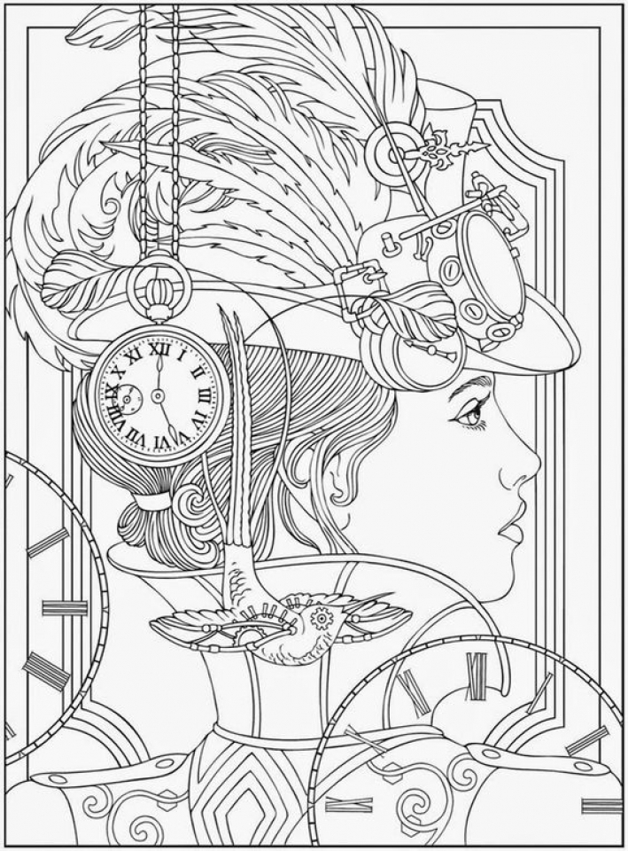 complex coloring pages online - photo#28