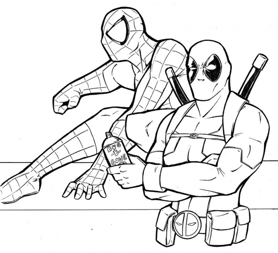 get this printable deadpool coloring pages 808698