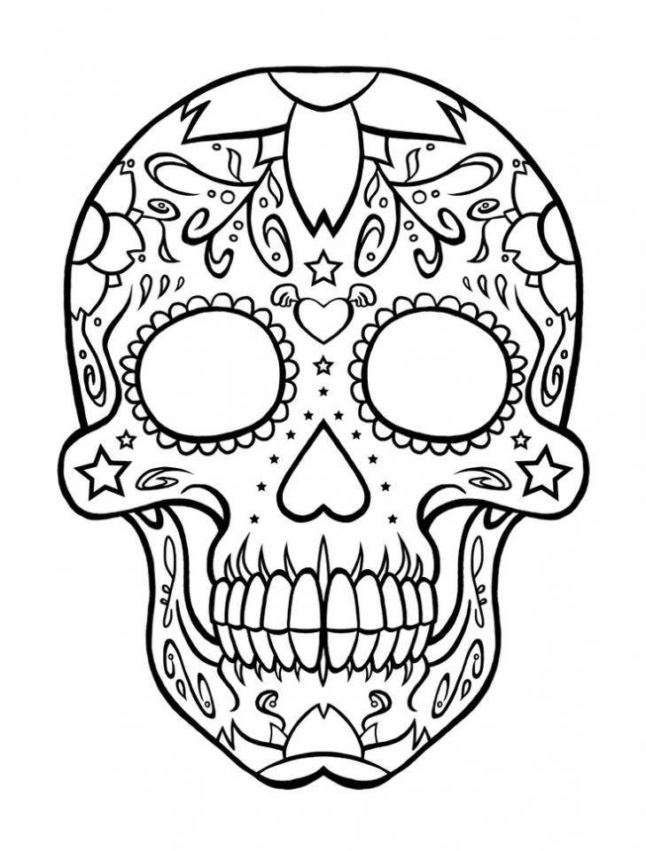 Get This Printable Dia De Los Muertos Coloring Pages Online Vu6h15 !