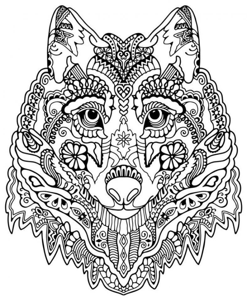 get this challenging trippy coloring pages for adults pl3c6 ! - Challenging Animal Coloring Pages