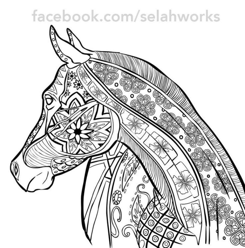 Coloring Pages For Adults Difficult Animals : Get this printable difficult animals coloring pages for