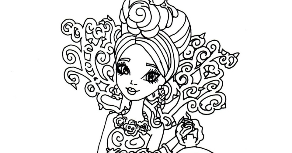 printable ever after high coloring pages online 17696 - Ever After High Coloring Book