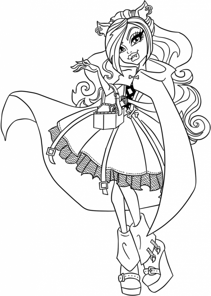 Get This Printable Ever After High Coloring Pages Online