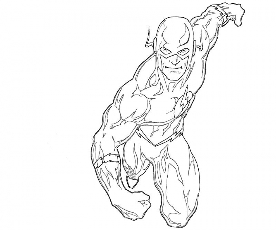 Get This Printable Flash Coloring Pages 9wchd